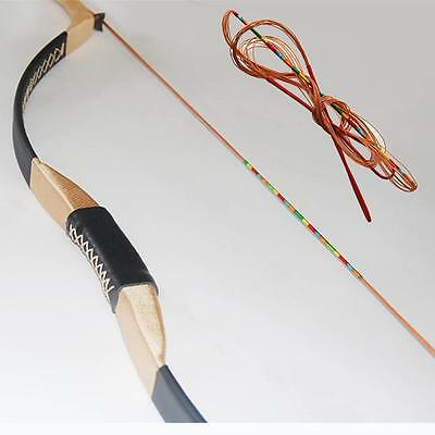 """51""""-56"""" IRQ Archery Recurve Bowstring Handmade Hunting Bow String Target Longbow"""