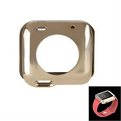 Full Body Case aus TPU Protective Case für  Watch 38mm in gold