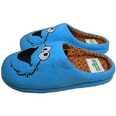 Sesame Street - Cookie Monster Adult Mule Slippers - New & Official With Tag