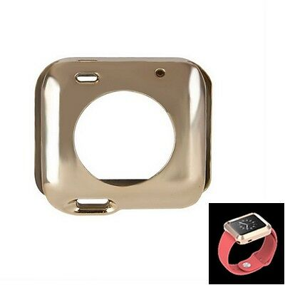 Full Body Case aus TPU Protective Case für  Watch 42mm in gold