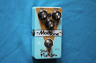 Clearance! ModTone Space Flanger True Bypass Studio Quality Pedal, MT-FL