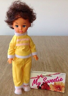 """Vintage 1960s MY SWEETIE DOLL 11"""" BABY McCrory Store York PA Antique Toy"""