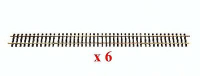 "LGB 10610 Straight Track, 1200 mm (47.2"") 6 Pieces - NEW in Box!!!"