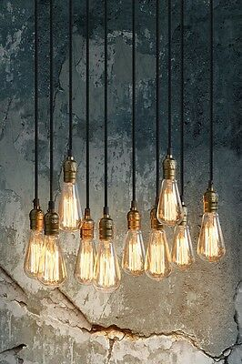 Thibault Chandelier Pendant Light Industrial Vintage Style