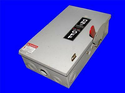 Very Nice Ge General Electric Safety Switch Non Fusible Disconnect Tgn3322