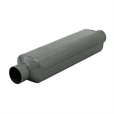 """Flowmaster 12518409 Super Hp-2 Hushpower Muffler Centered 2.5"""" In/out Stainless"""