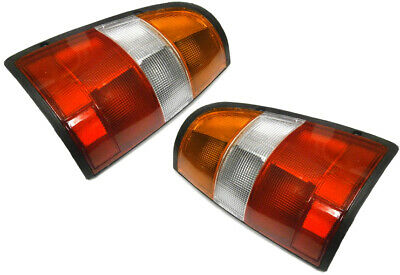 Holden Rodeo Taillights LH + RH Tail Lights Lamps Suit TF R7 R9 1997-2001 *New*