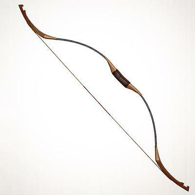 Handmade Traditional Recurve Bow Adult Archery Practice Longbow Hunting Horsebow