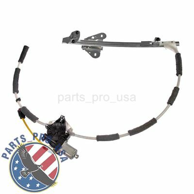 Power Window Regulator w/ motor Front Driver Left For Jeep Cherokee 55154959AI