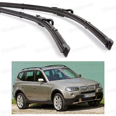 "22"" 20"" Car Front Windshield Wiper Blade Bracketless for BMW X3 2005-2010 E83"