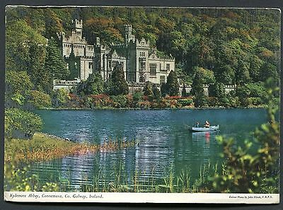 C1970's View of Kylemore Abbey, Connemara, County Galway, Ireland