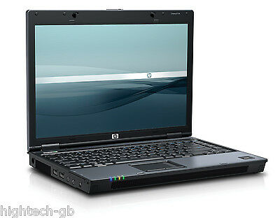 "BEST HP Compaq 6510b 14.1"" Intel Core 2 Duo 4GB RAM 160GB HDD WIN 7 WiFi DVD RW"