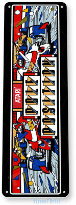TIN SIGN Pole Position Arcade Game Room Bar Marquee Console Metal Décor B034