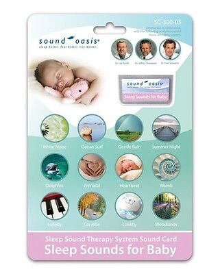 Sleep Sounds for Baby Sound Card by Sound Oasis (SC-300-05)