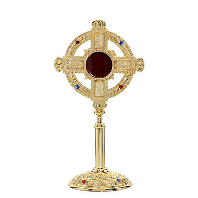 1632 reliquary reliquary monstrance house altar with stones some 32 cm NEW