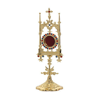 1631 reliquary reliquary monstrance house altar with stones some 31 cm NEW