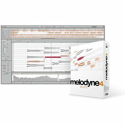 Celemony Melodyne 4 EDITOR to STUDIO UPGRADE Pitch and Time Shifting Software