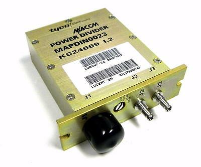 New Tyco M/a-Com Mapdin0023 Power Divider Lucent # 848871687 (3 Available)