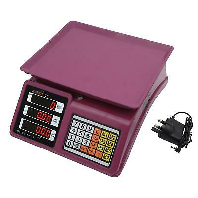 833119 30kg Electronic Digital Pricing Super Market Fruits Postal Weigh Scale