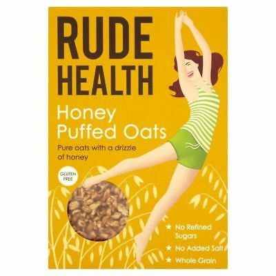 Rude Health Gluten Free Honey Puffed Oats 240g • AUD 11.75