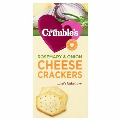 Mrs Crimbles Cheese Crackers with Rosemary & Onion 130g
