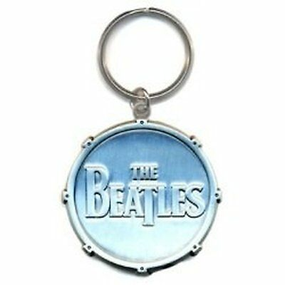 The Beatles Drop-T Band-Logo Metall Kreis keychain offiziellen
