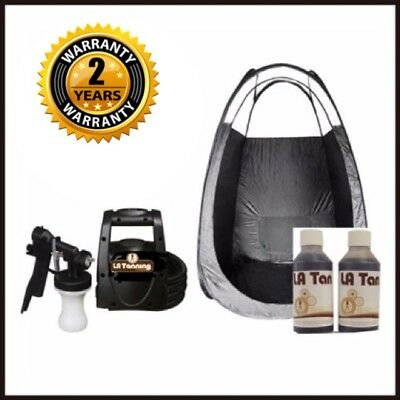 Hvlp Ts20 Spray Tanning Kit- Machine, Spray Tan & Tent! Includes 2 Yrs Warranty!