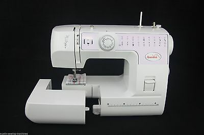 New Full Size Sewing Machine Austin 22 Auto Select Stitch Free Hand Quilting