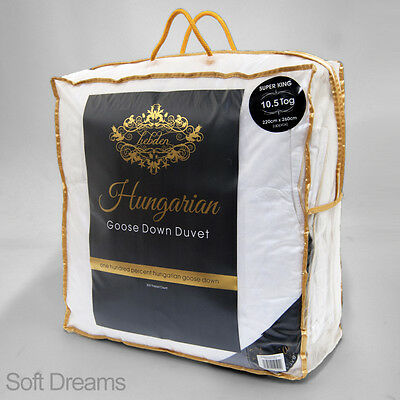 100% Pure Hungarian Goose Down Double Bed Size Duvet / Quilt