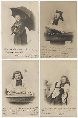 SET OF 7 CARDS.LITTLE BOY PRIEST.PETIT GARçON PRÊTRE.ENSEMBLE DE 7 CARTES.