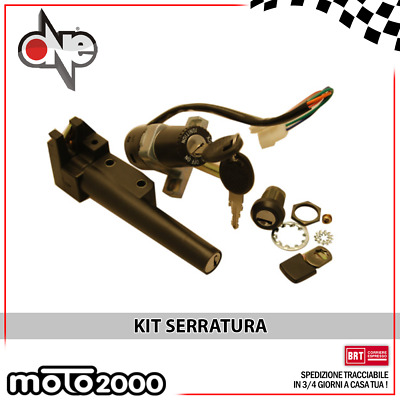 Kit Serrature Per Aprilia Rally Sr Liquid Stealth 50 - 77208233 Ro Ap8201845