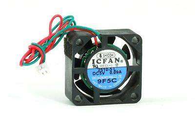 Shicoh 2510-5 L ICFAN Small Mini Fan/Fan 25x25x10mm DC 5V 0.09A 2 Pin 2-Wire