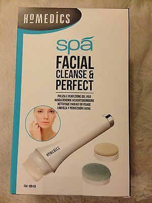 Homedics Spa Facial Cleanse & Perfect Fac-100-Eu For Healthy Looking Skin