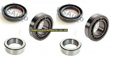 2 X Rear Wheel / Outer Axle Bearing Kit Jeep Grand Cherokee 99-04 Dana 44