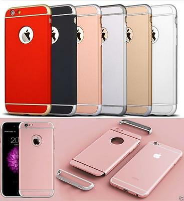 Luxury thin Shockproof Armor Back Case Cover for Apple iPhone SE 5S 6S 7 8 Plus