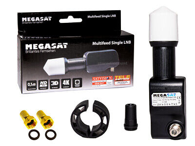 Red Eagle Black Buster Single LNB 0,1 Multifeed dünnes Rocket-feed Digital HDTV