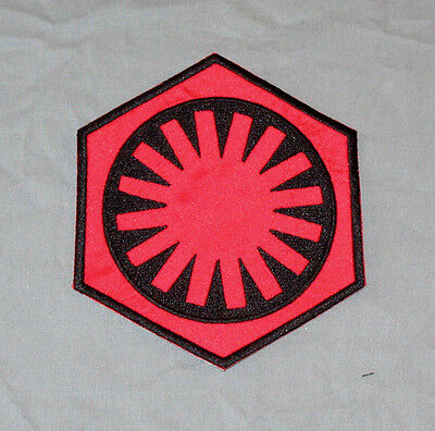 Star Wars First Order (Red  & Black) Arm Patch