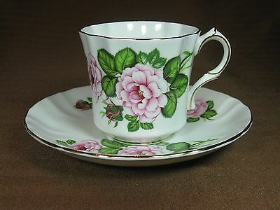 Hammersley Shakespeare's Royal Avon Bone China Tea Cup & Saucer Provincial Rose