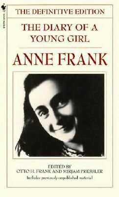 NEW The Diary of a Young Girl By Anne Frank Paperback Free Shipping