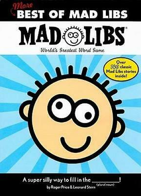NEW More Best of Mad Libs By Roger Price Paperback Free Shipping