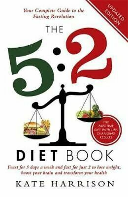 NEW The 5:2 Diet Book By Kate Harrison Paperback Free Shipping