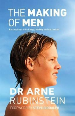 NEW The Making of Men By Arne Rubinstein Paperback Free Shipping