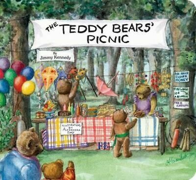 NEW The Teddy Bears' Picnic By Jimmy Kennedy Board Book Free Shipping