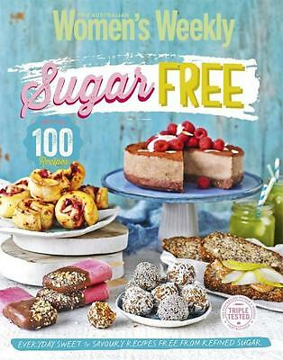 NEW Sugar-Free   By Australian Women's Weekly Paperback Free Shipping