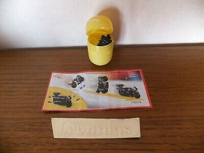 Kinder  surprise Sprinty  Moto  FT057 A  +  BPZ  noire