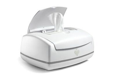 Baby Wipe Warmer White Diapering Clean Genie Travel Free Shipping