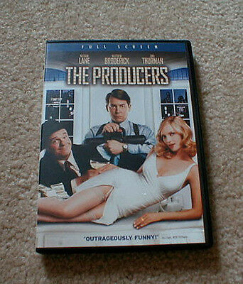 """""""The Producers"""" Comedy Movie starring Nathan Lane & Matthew Broderick on DVD"""