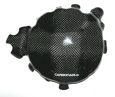 Triumph Speed Triple 1050 05-07 Carbon Limadeckel Cover Carbone Carbono
