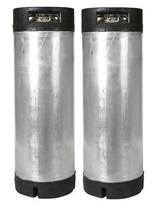 2 PK 5 Gallon Ball Lock Kegs Reconditioned - Homebrew Beer - Free Shipping