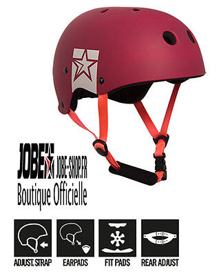 Casque Sports Nautiques Slam Wake Helmet Red Jobe - wakeboard - skis